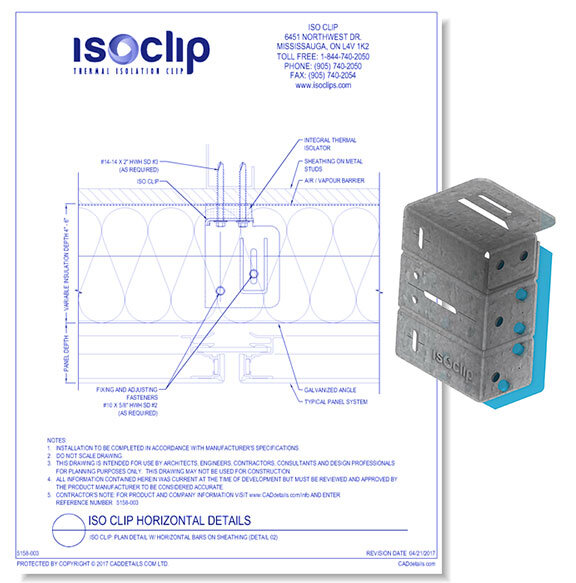 Thermal Insulation Clip