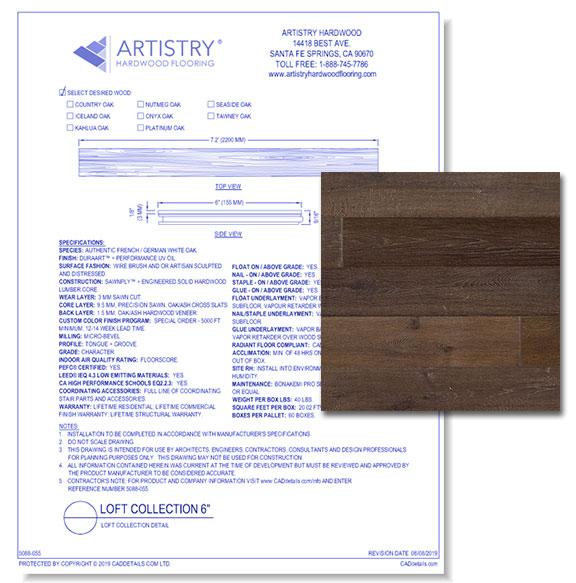 Loft Collection - Tawney Oak