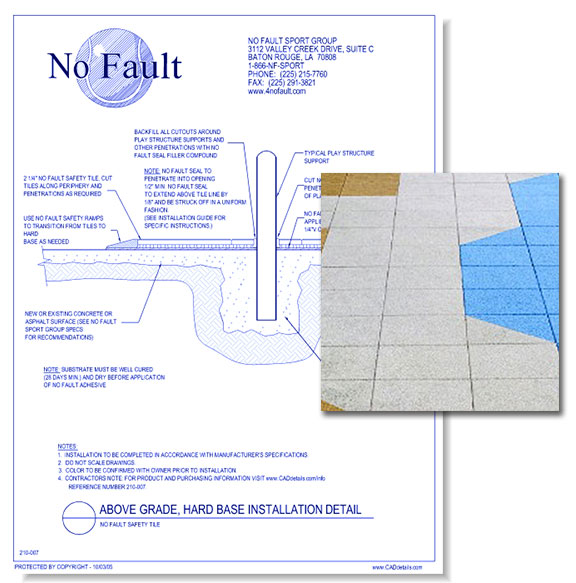 No Fault Safety Tiles