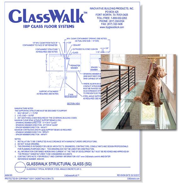 GlassWalk Structural Glass Floor System