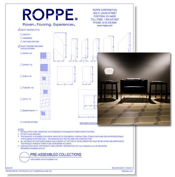 Designer's Choice Rubber TIle