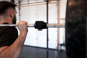 The Push band can now be used on the barbell for most exercises but if you still like to wear it on your forearm (eg. you may train in a public gym), that is still an option as well