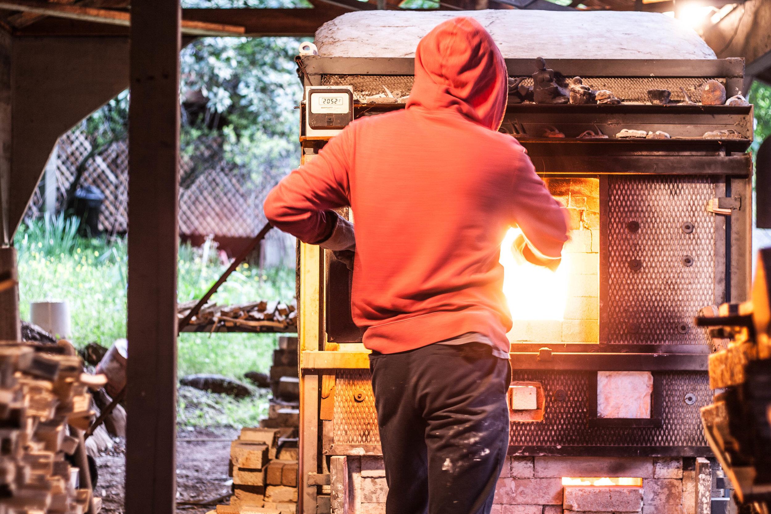 Wood Firing Anagama