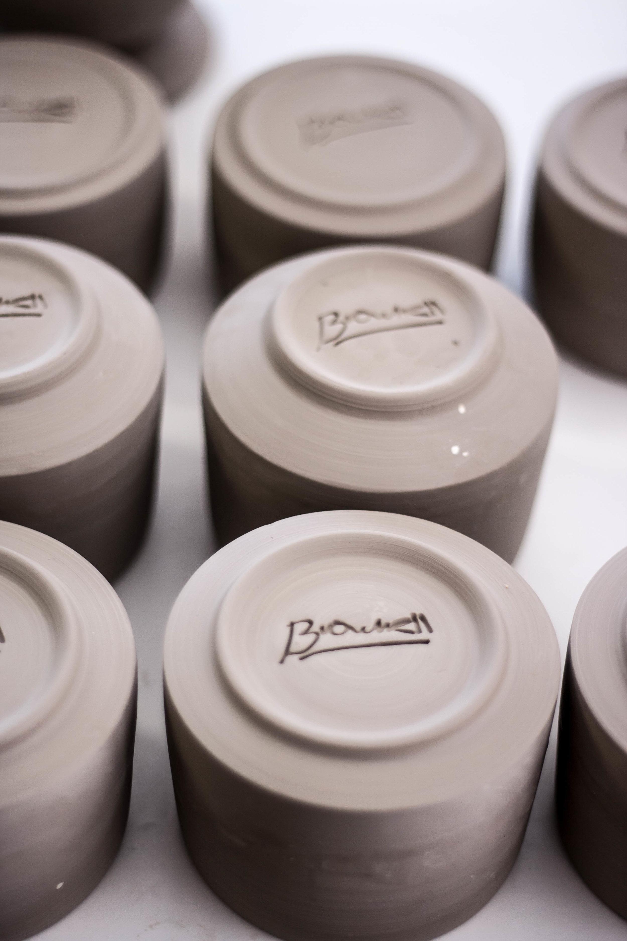 Hand Made Porcelain - Mountain Ranch California