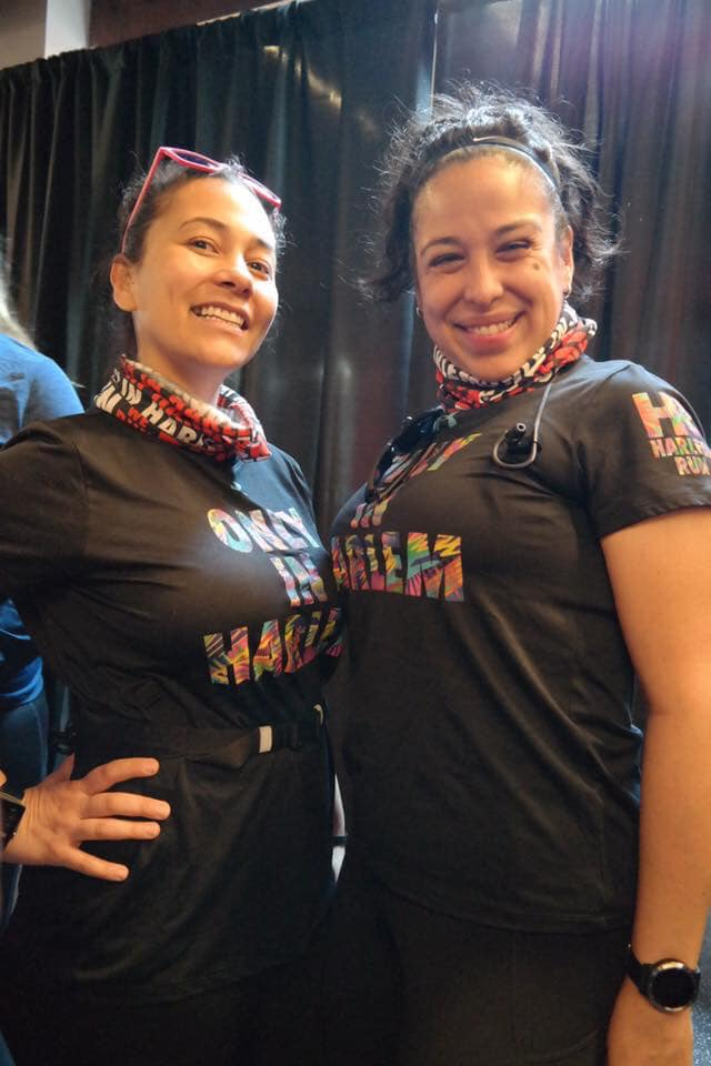 #RunPainFree Ambassador and Harlem Run Teammate, Dawn and Vanessa!