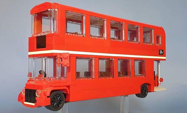 Routemaster Bus . . #lego #legomoc #legomodel #afol #7wlc #routemaster #bus