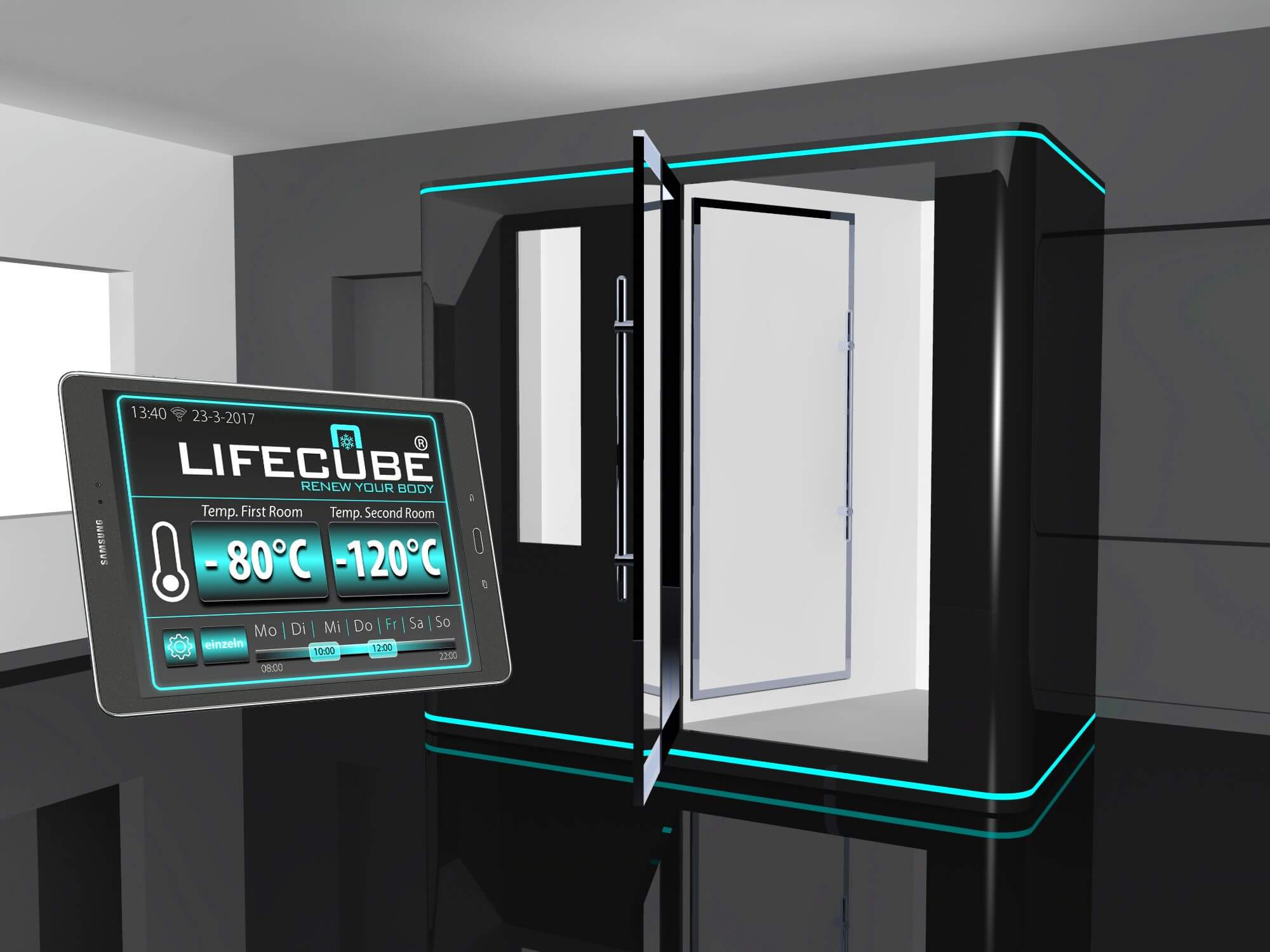 LifeCube Electric Cryochamber