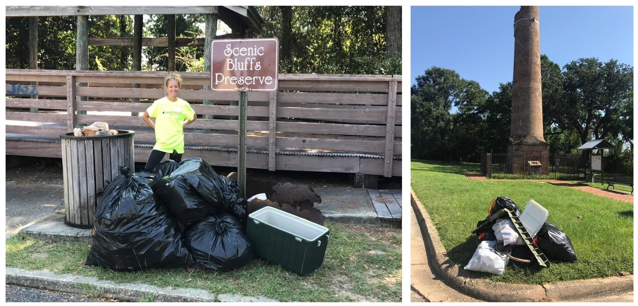 271 lbs of trash were picked up by 47 volunteers including people from American Water and Scout Troop 602