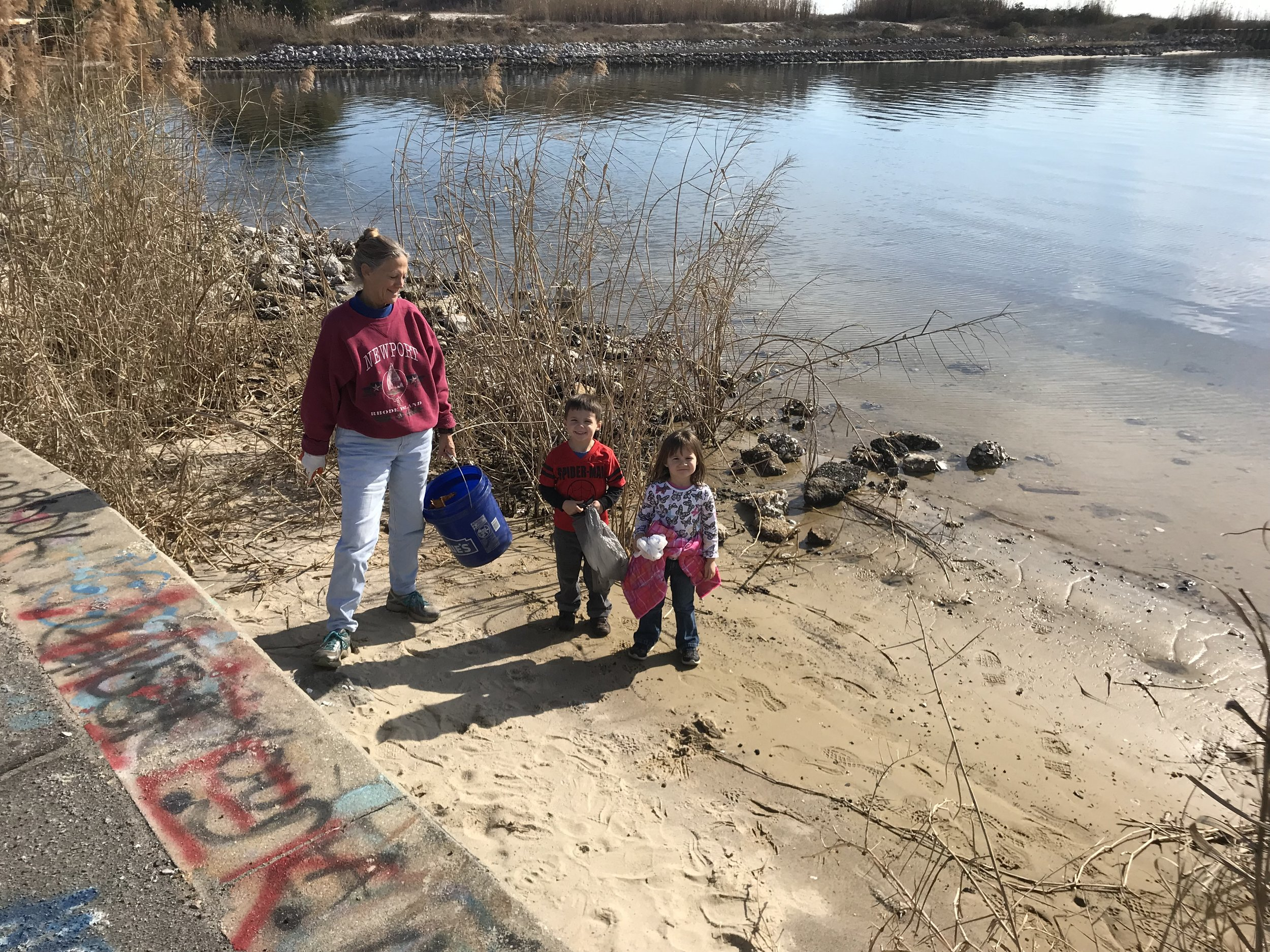 - ALL 37 volunteers contributed to collecting 157 lbs of trash.The