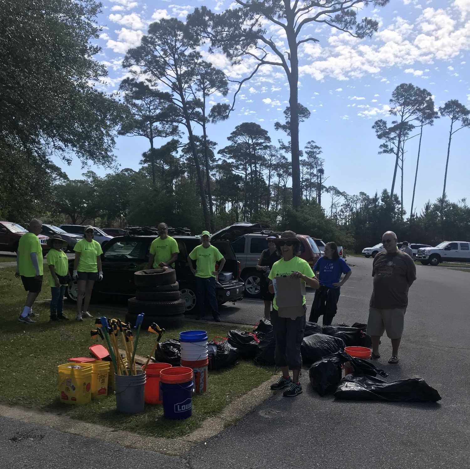 - An intrepid volunteer (Andy) collected 170 lbs of debris at Bay Bluffs earlier in the week. Coupled with the 453 lbs from the 5th makes May the fifth month in a row of higher volumes versus 2017