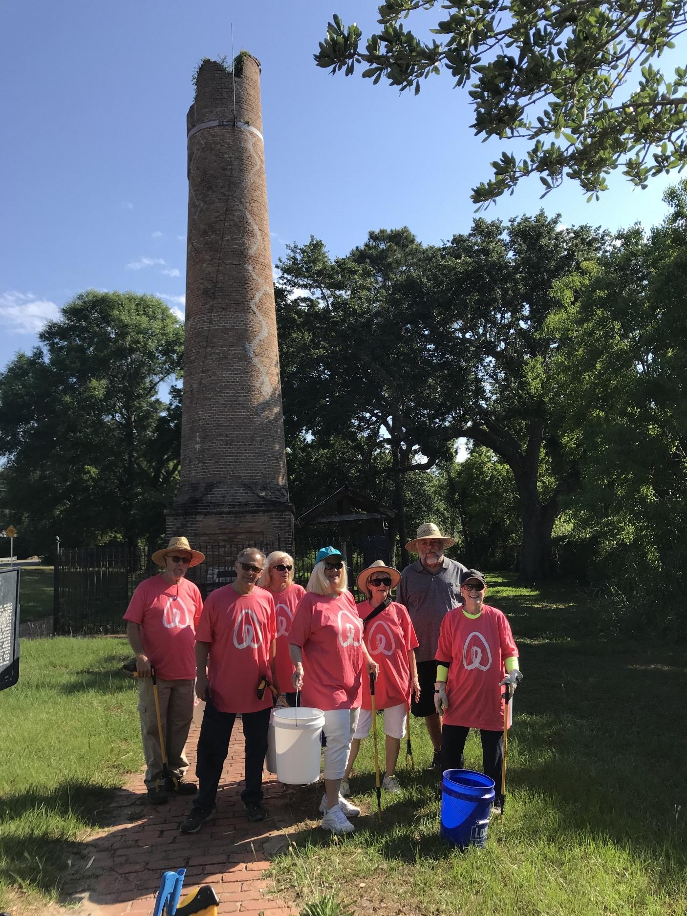 - 169 lbs of debris picked up by 29 volunteers on a beautiful Saturday moring