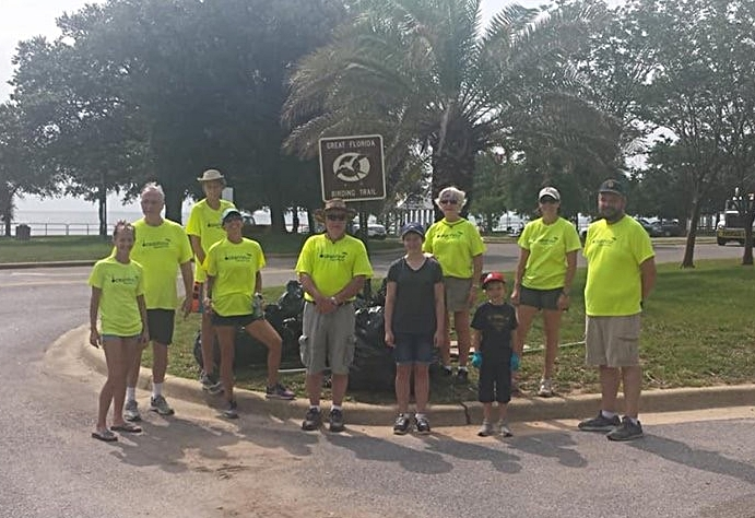- Adding Bartram Park and Graffiti Bridge, 29 volunteers picked up 267 lbs of trash. There were a lot of styrofoam pieces and 114 water bottles
