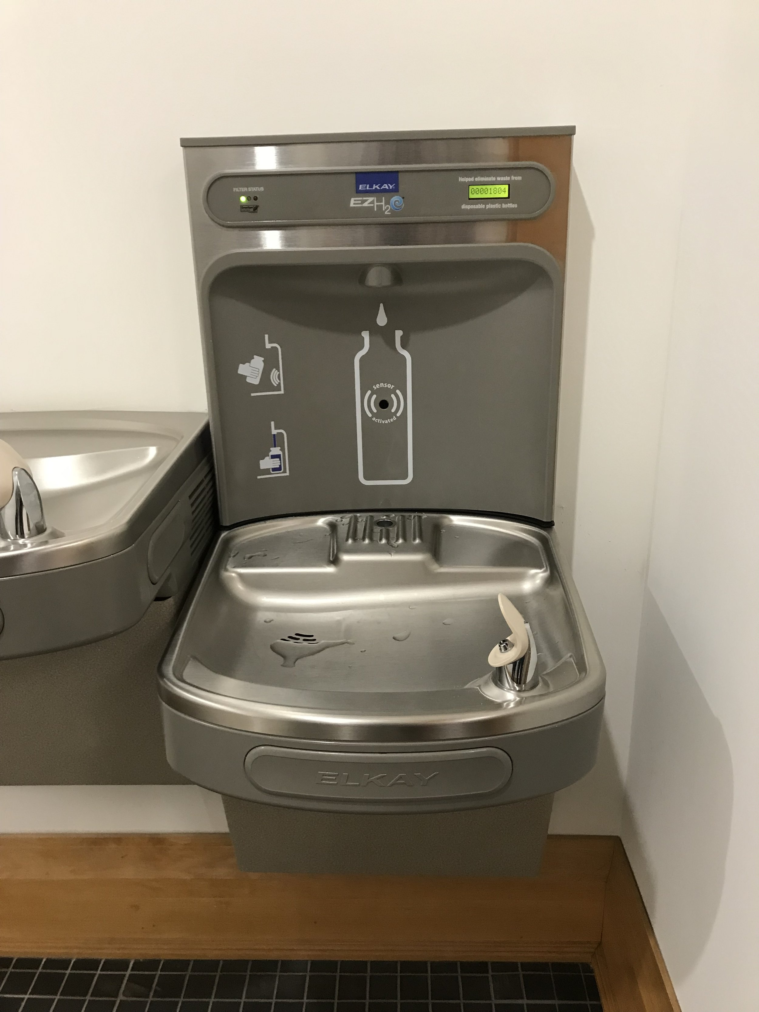- Ocean Hour is making a map of water bottle filling stations in the Pensacola area. Please send locations to volunteer@oceanhourfl.com Example: Pensacola Airport, 2430 Airport Blvd, Pensacola, FL 32504. Located between Gate 5 and women's restroom on the concourse
