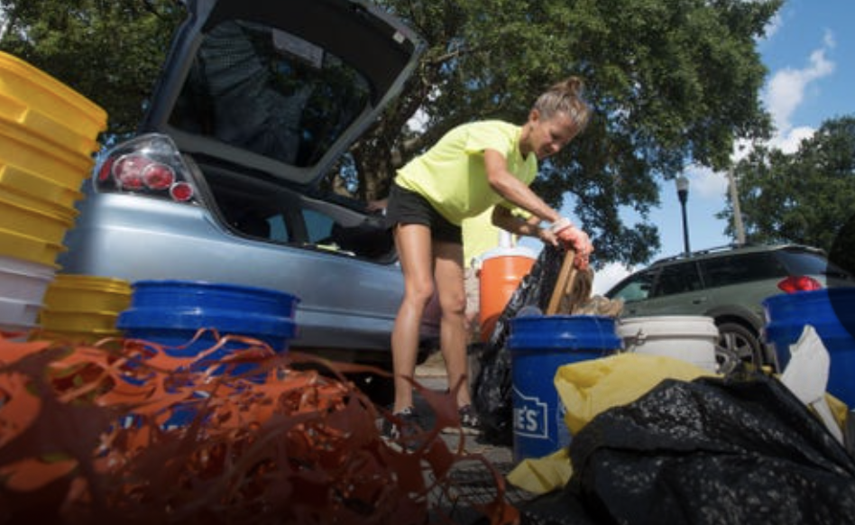 "- Conservation Center's volunteers' efforts to keep our shorelines and beaches clean. Thanks to the Pensacola News Journal to help raise awareness on ""Don't Litter""! To read the whole article PNJ"