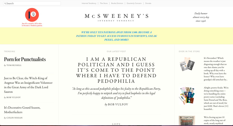 McSweeney's -