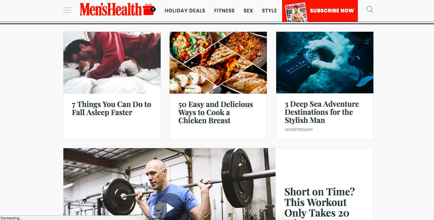 Men's Health -