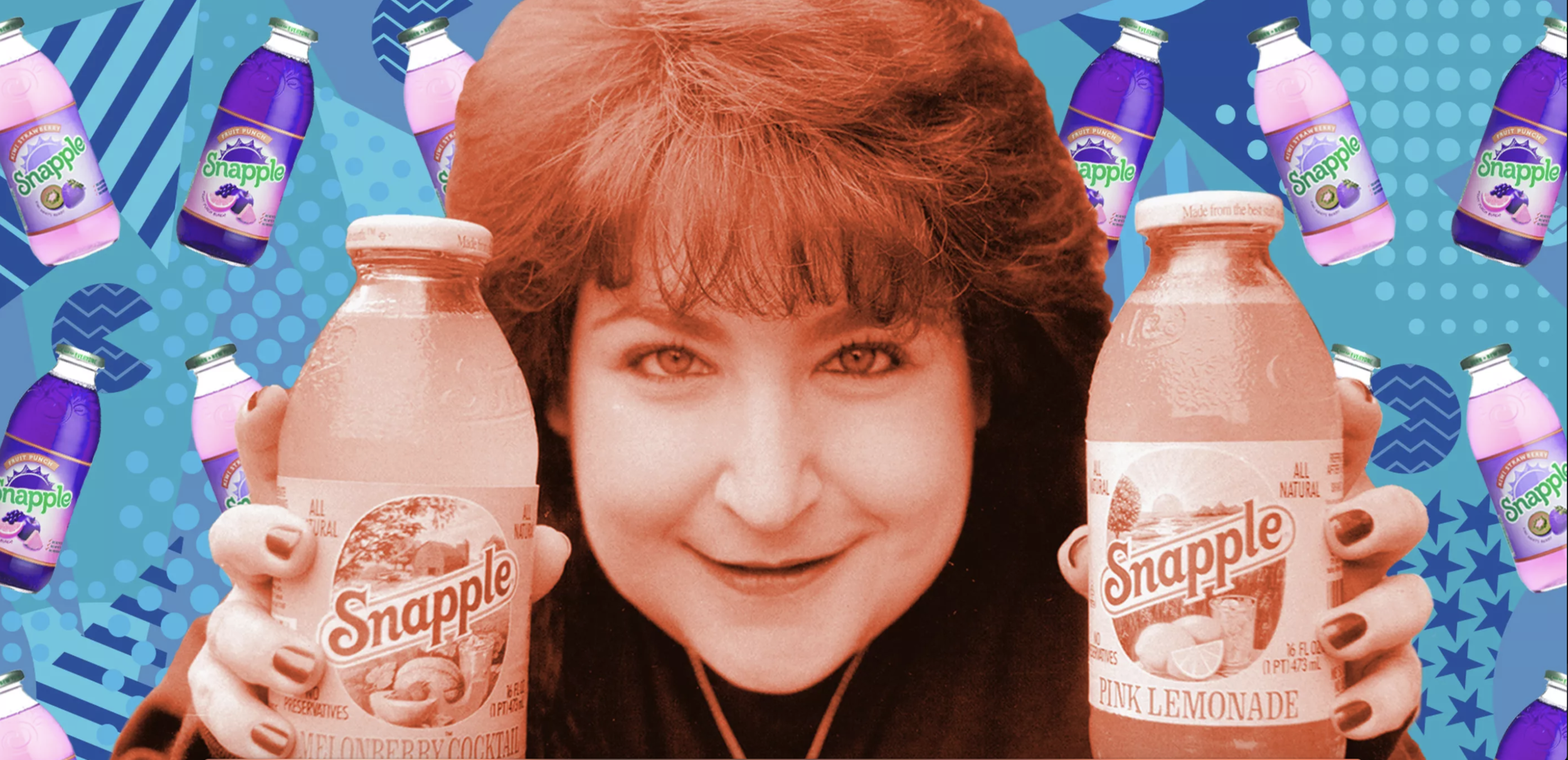 "How Snapple Conquered the '90s [Eater] - Meet Wendy Kaufman, the pop culture icon who sold ""the best stuff on Earth"" [READ MORE]"