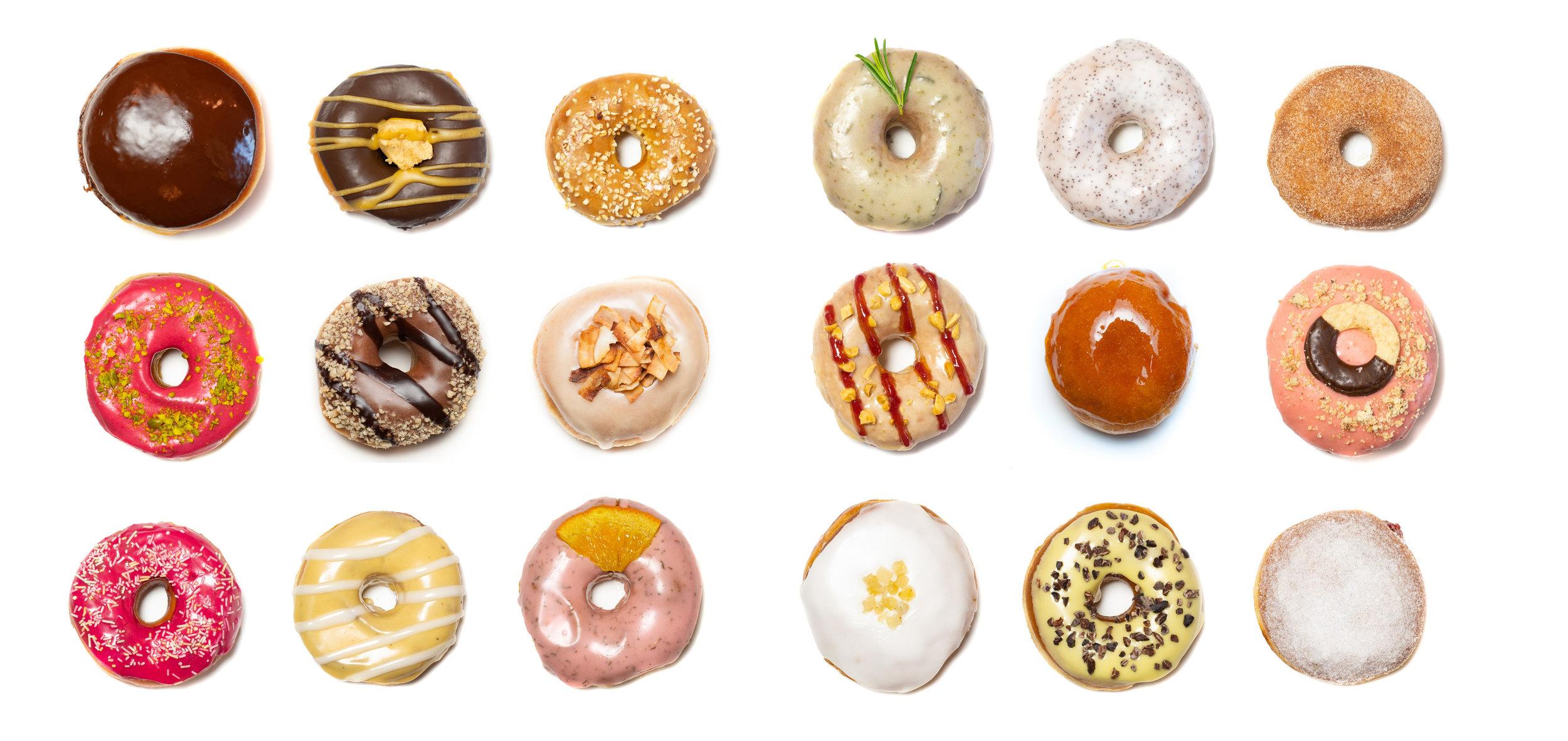 (此圖取自於 Brammibal's Donuts官網 )