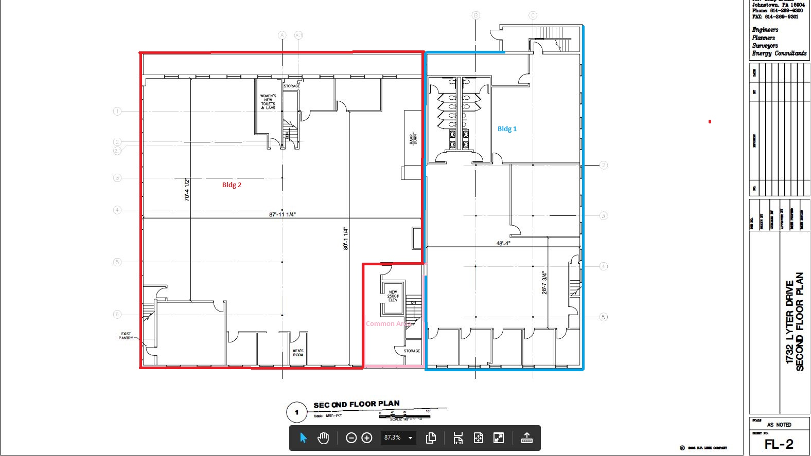 1732 Lyter Drive Second Floor Planproposed subdivision.JPG