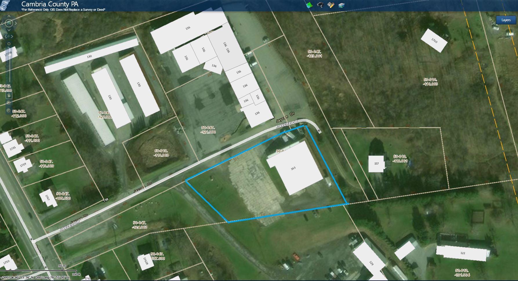 143 Jaycee Drive Aerial Tax Map.JPG