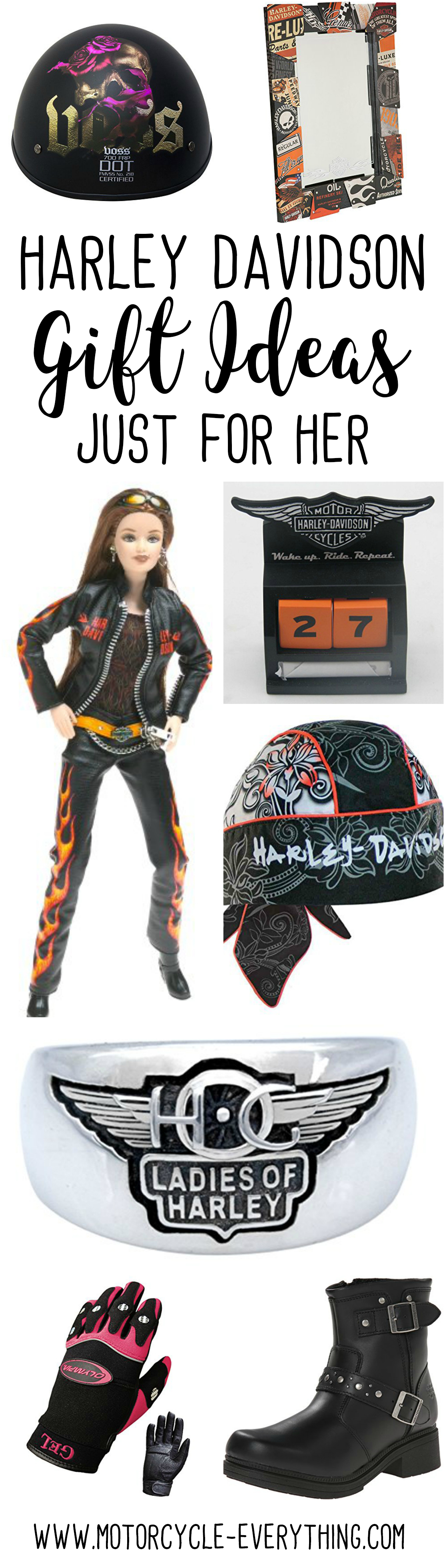 Amazing Harley Davidson Gifts for Her