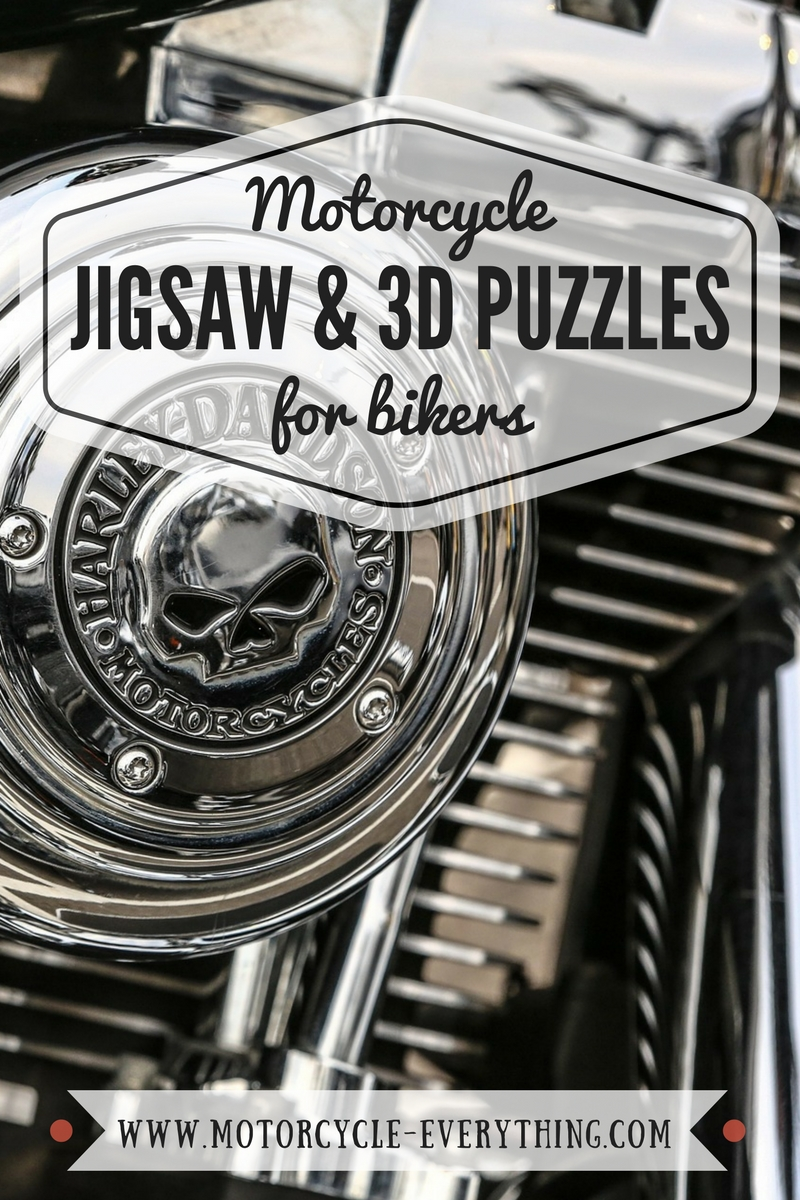 Motorcycle Puzzles For A Biker - Motorcycle Jigsaw Puzzles & 3D Wooden Puzzles