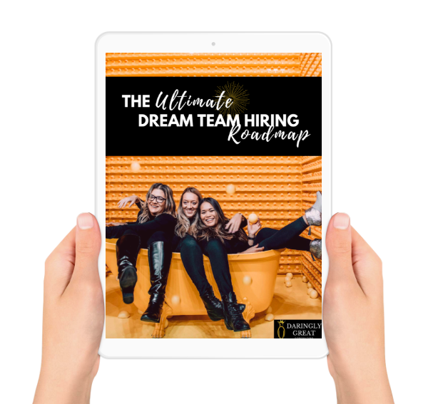 The Ultimate dream team hiring roadmap - Hiring new team members can be a complicated process, so we decided to create a step-by-step roadmap to make it a little easier on you!