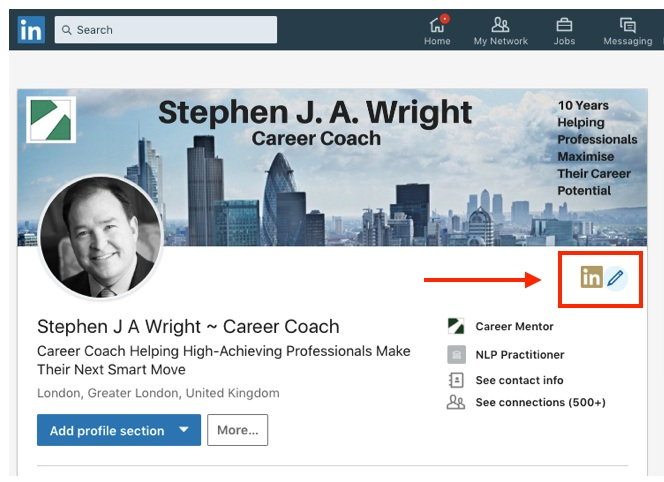 Linkedin How To Changing Your Linkedin Background Photo