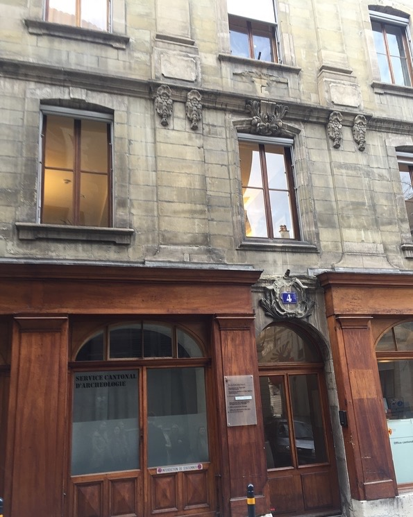 The building where Henri Dunant founded the Red Cross!