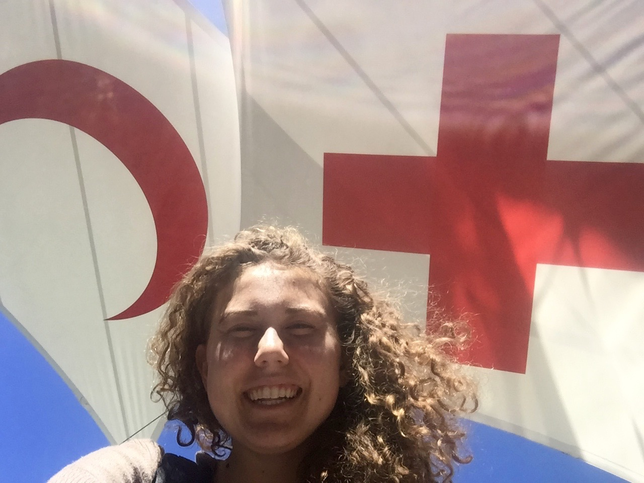 Me at the international Red Cross and Red Crescent museum in Geneva (One of the highlights from my time abroad)