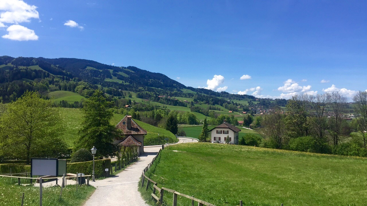 The Swiss countryside (!!!)