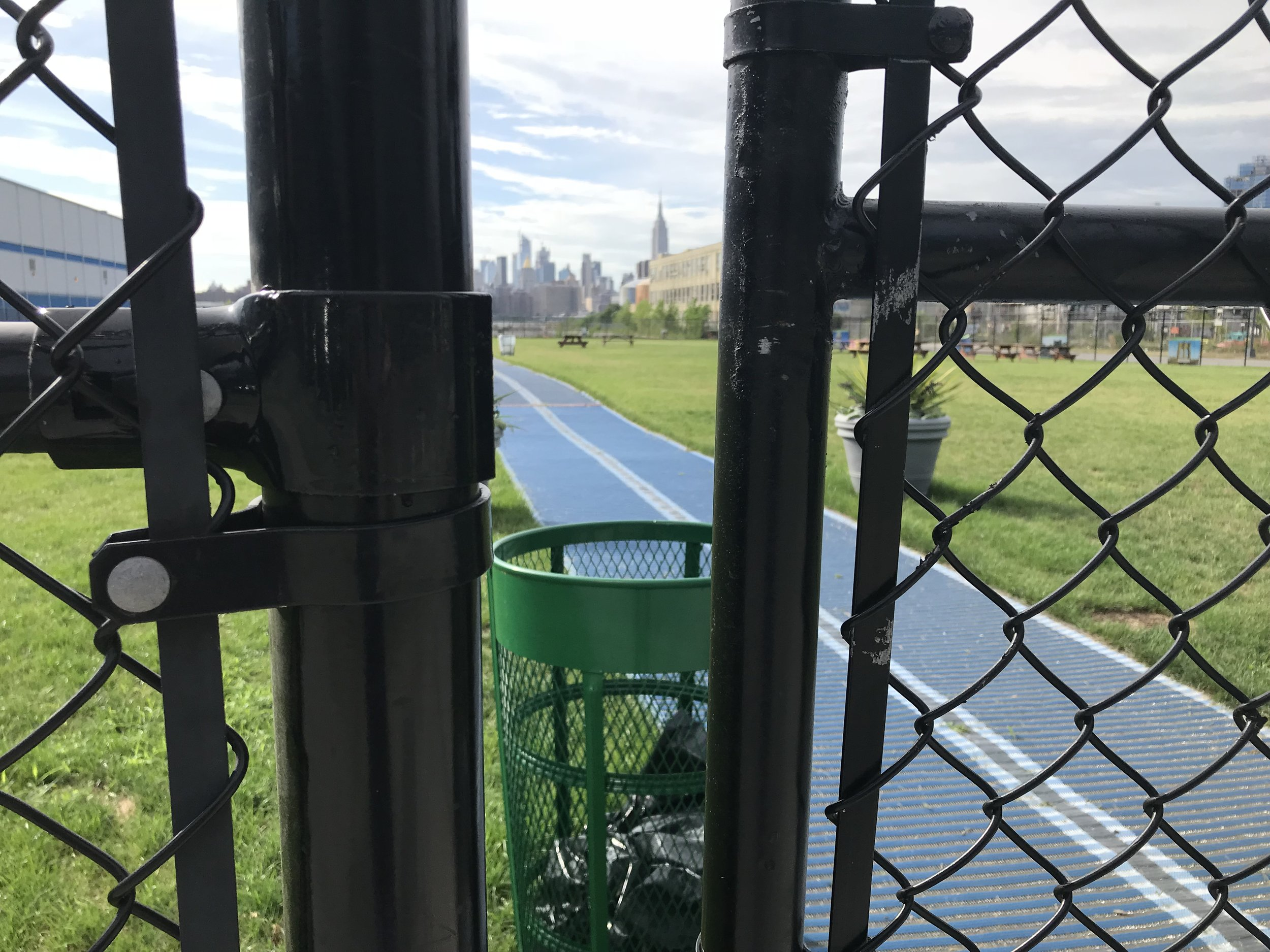 A park in N Williamsburg closed on a Friday afternoon for no apparent reason. -