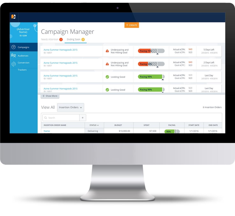 LiveIntent Platform after the redesign