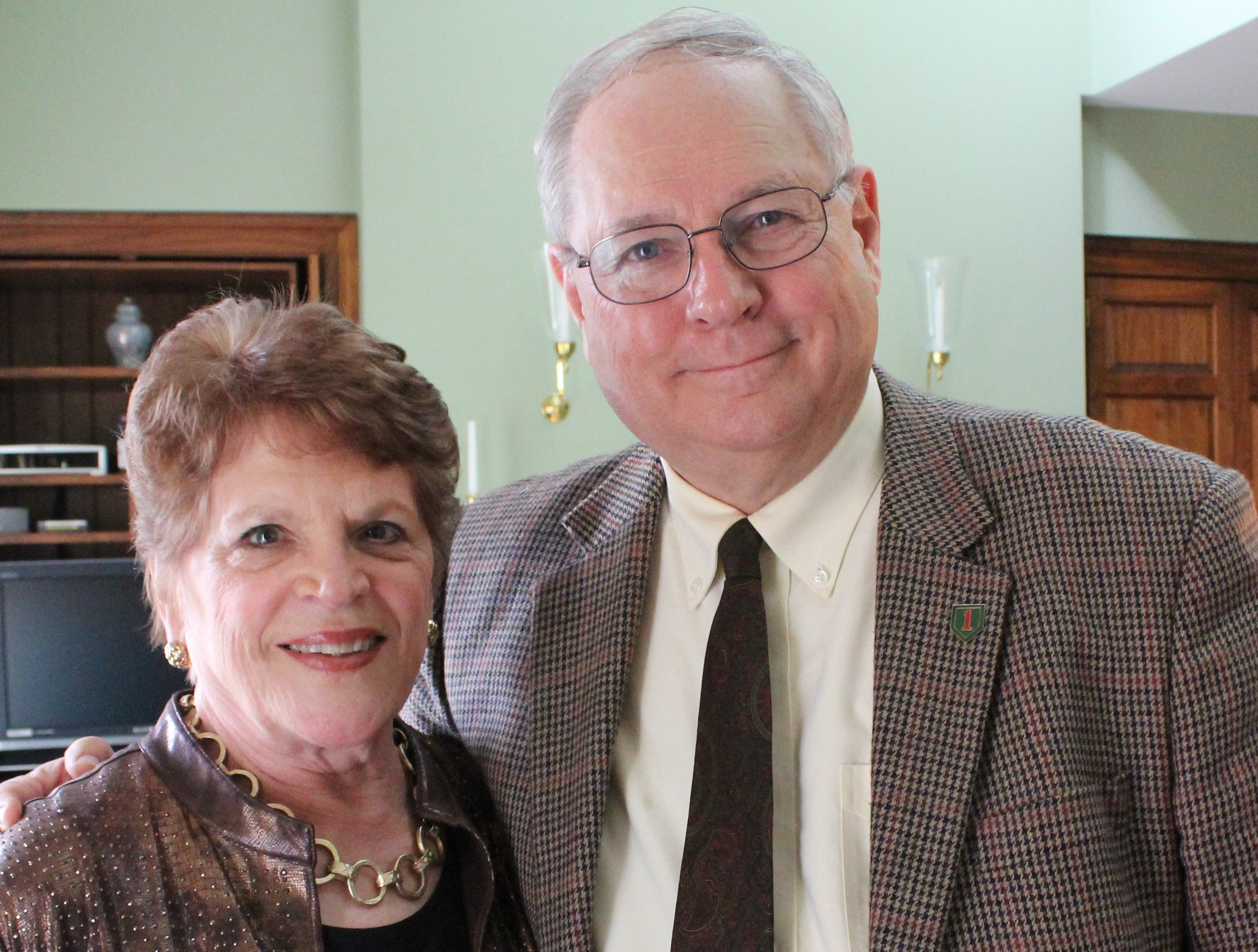 PCLC Board President Glenn Holliman and wife Barbara.