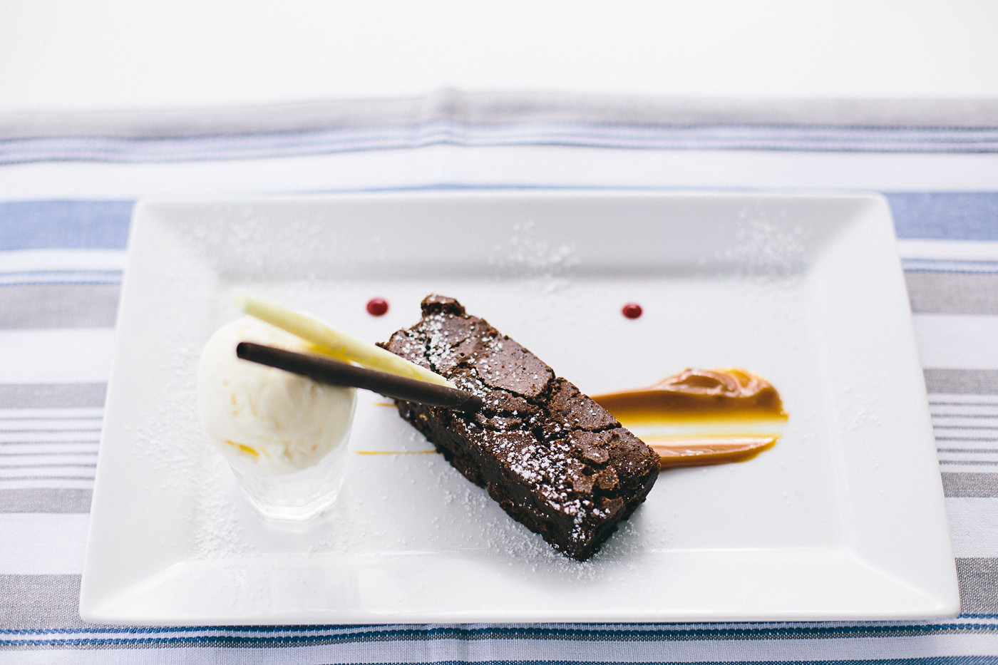 Our amazing chocolate Brownie