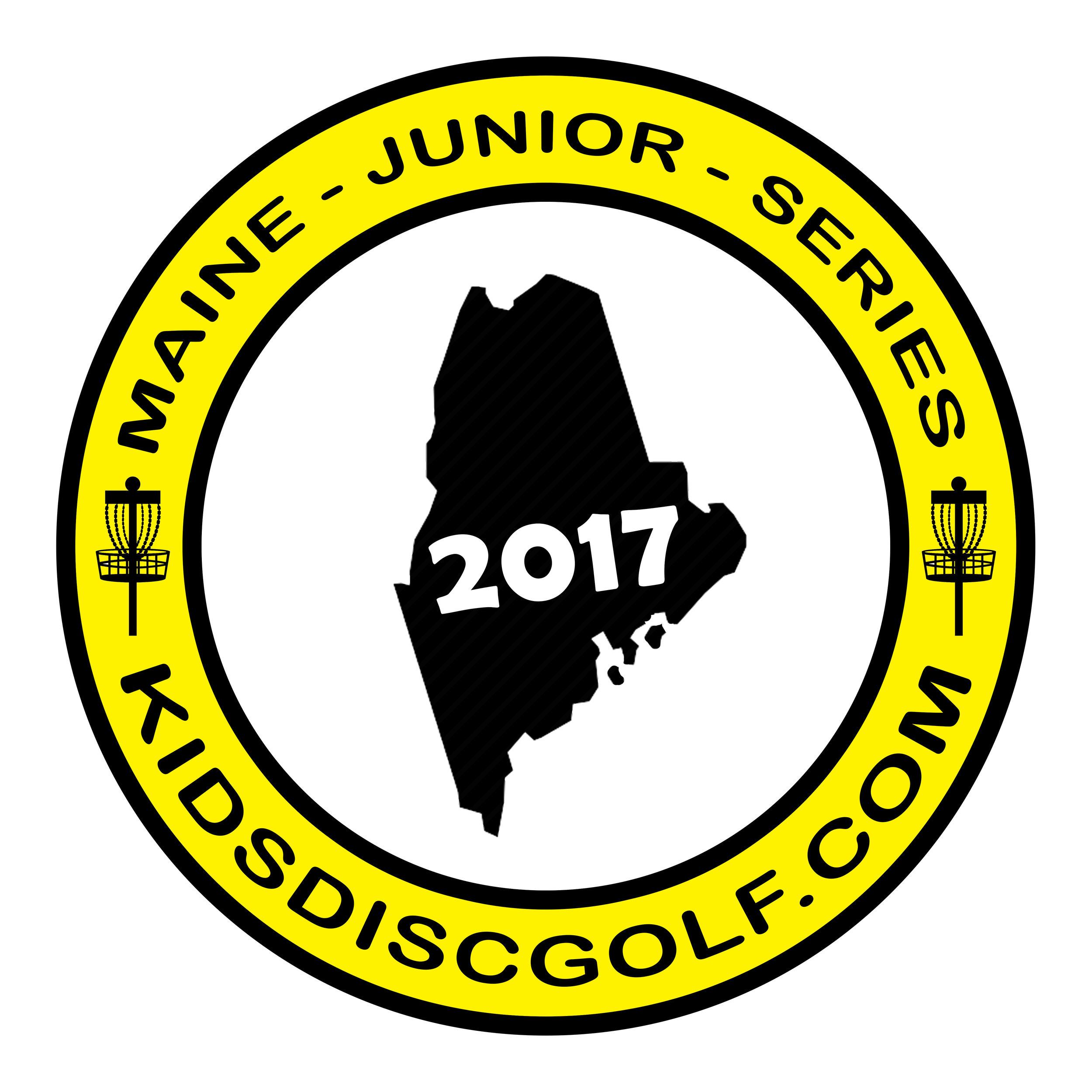 Main Junior Disc Golf Championship Logo