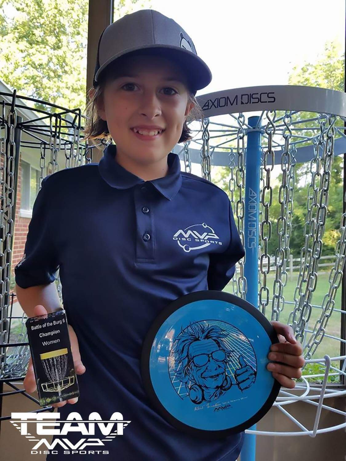 Lilly Ruthen | PDGA #76364 | 13 Years Old