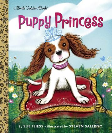 Puppy Princess / Little Golden Books 2016
