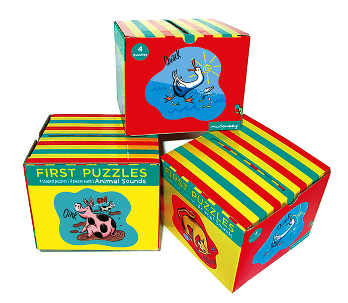 ^ First Puzzles  -puzzles & packaging created for Galison/  Mudpuppy   (books and games for kids)