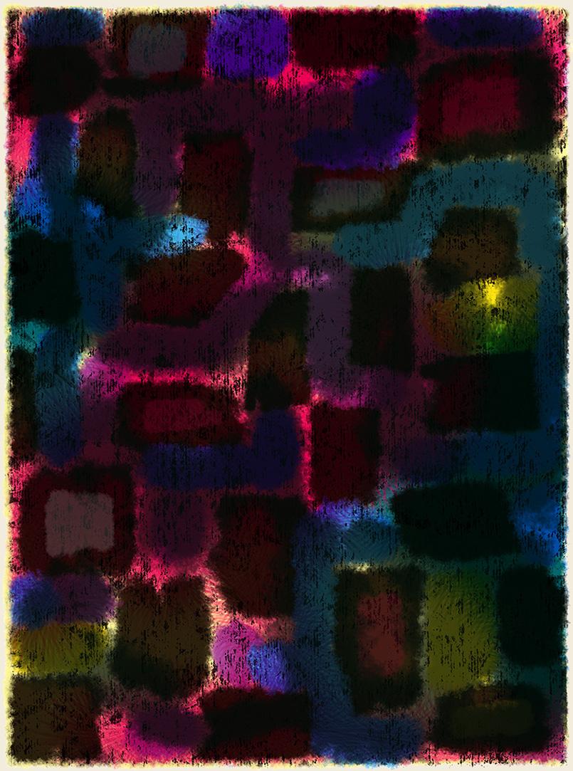Glimmer  -rug design/preliminary drawing    Steven Salerno  © 2019