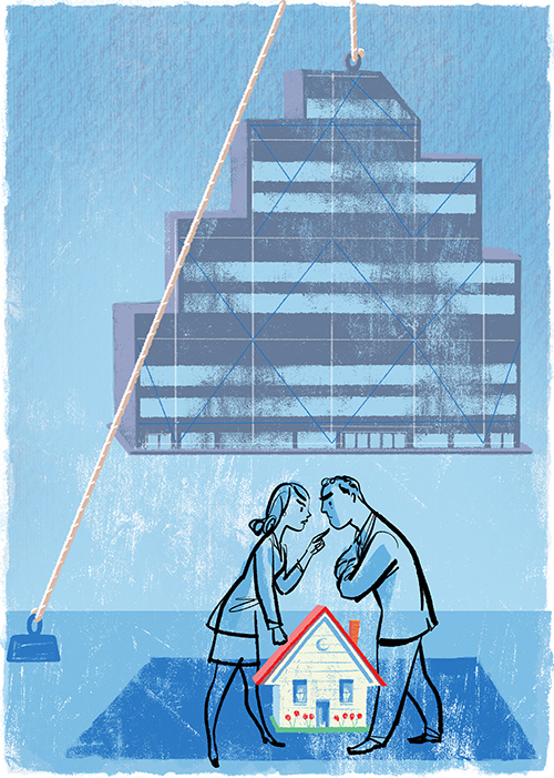 above  new illustration recently created by  Steven Salerno  for 7/16/19 issue of   The Wall Street Journal