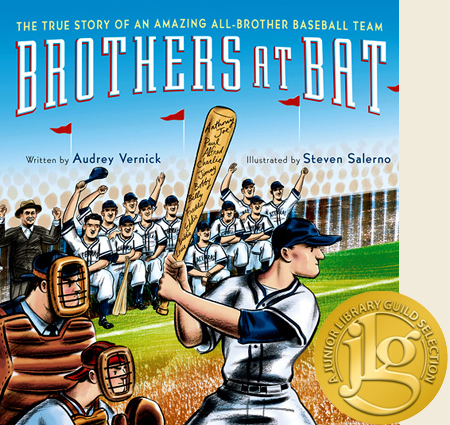 Brothers at Bat /2012 Clarion Books