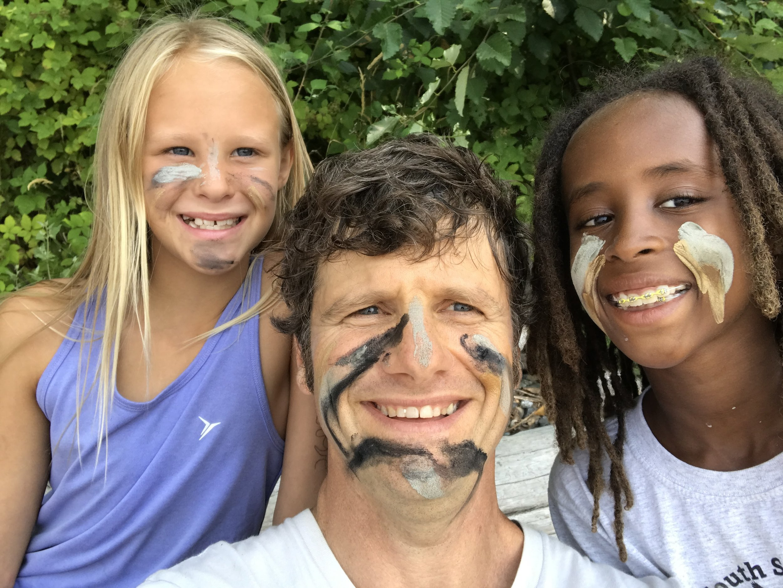 Face Paint Seahurst Park Summer Camps.