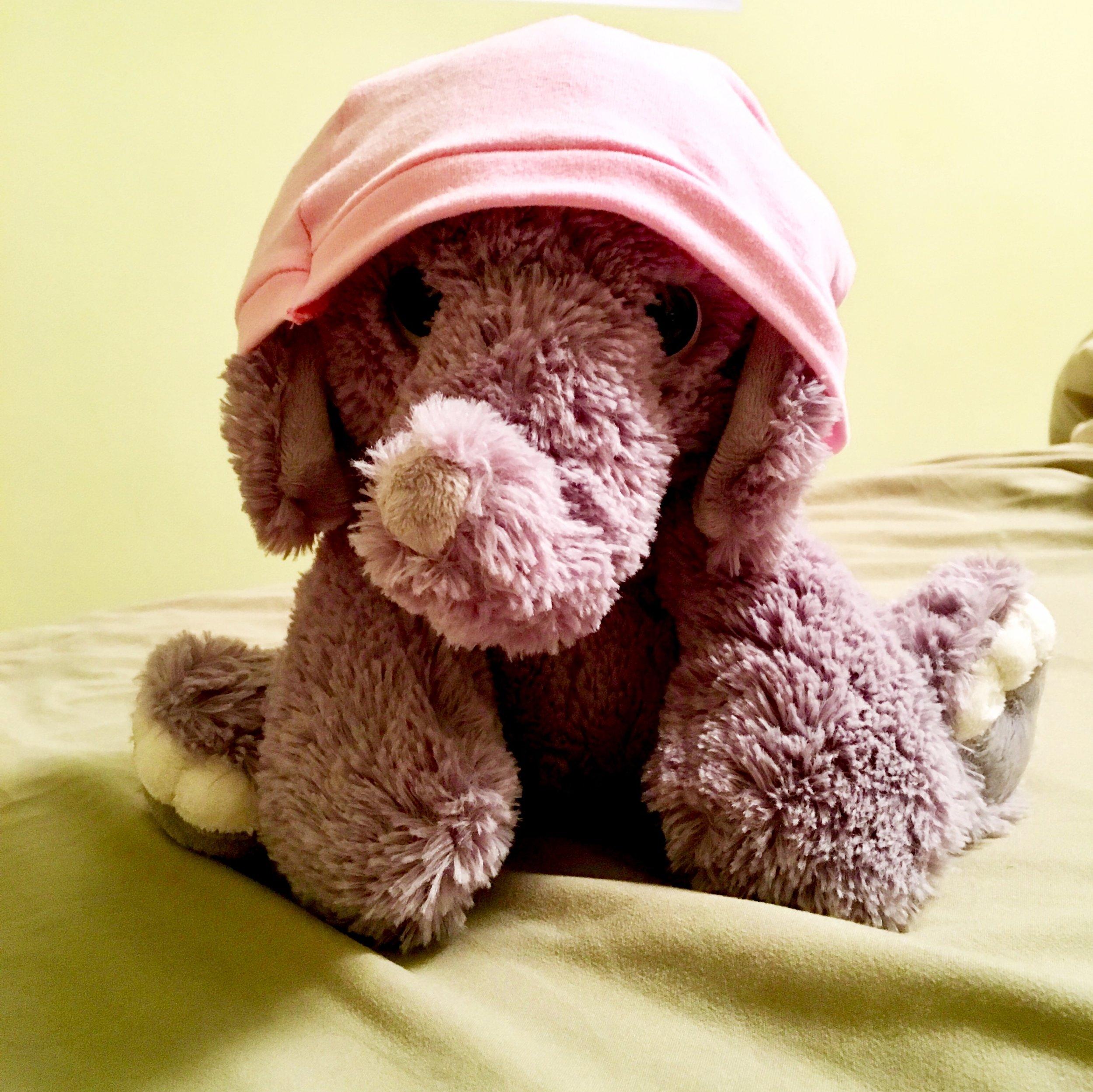 He's a very thoughtful elephant.