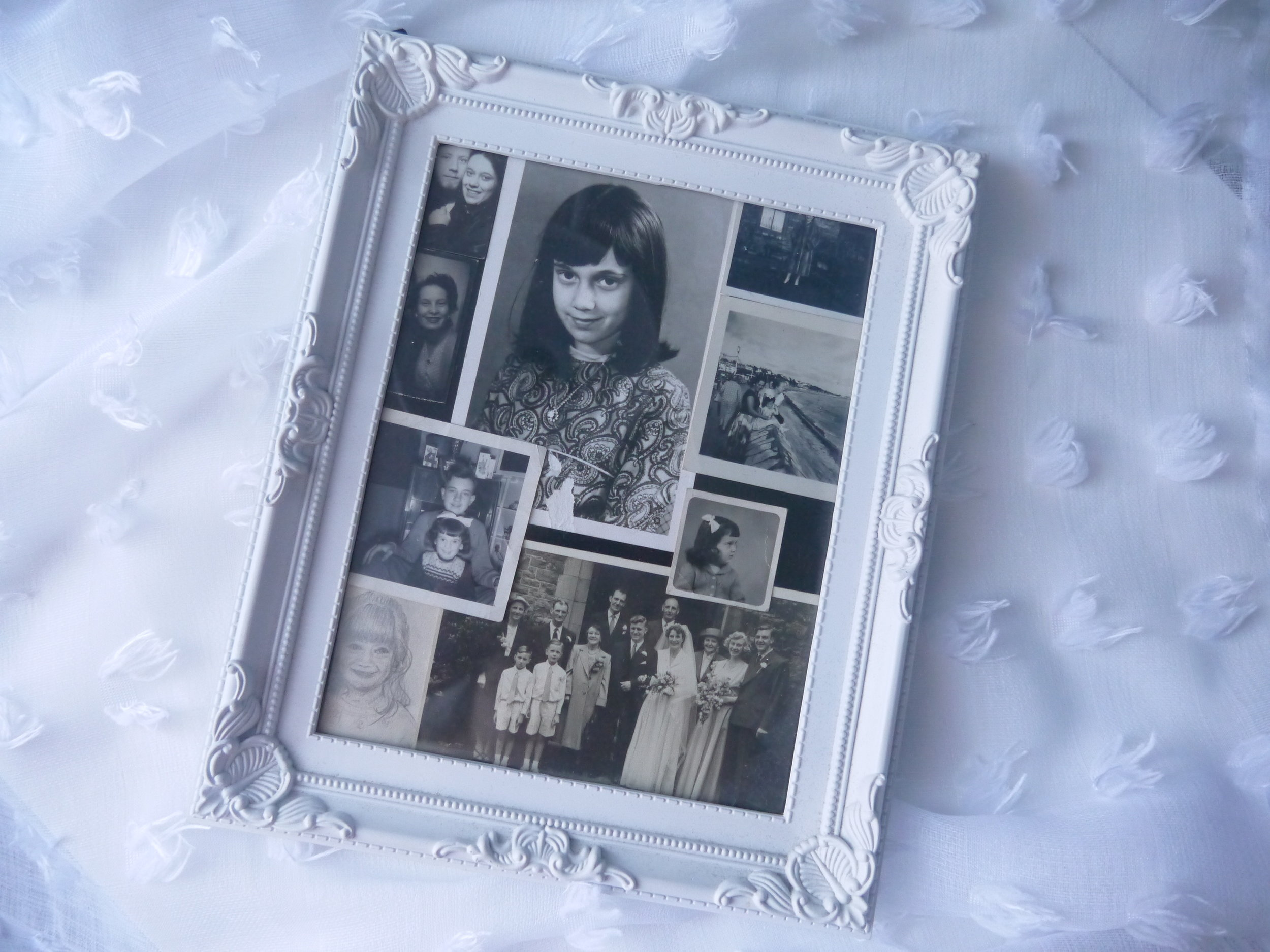 Framing my favourite old photos so that I can enjoy them, rather than them living in a box!