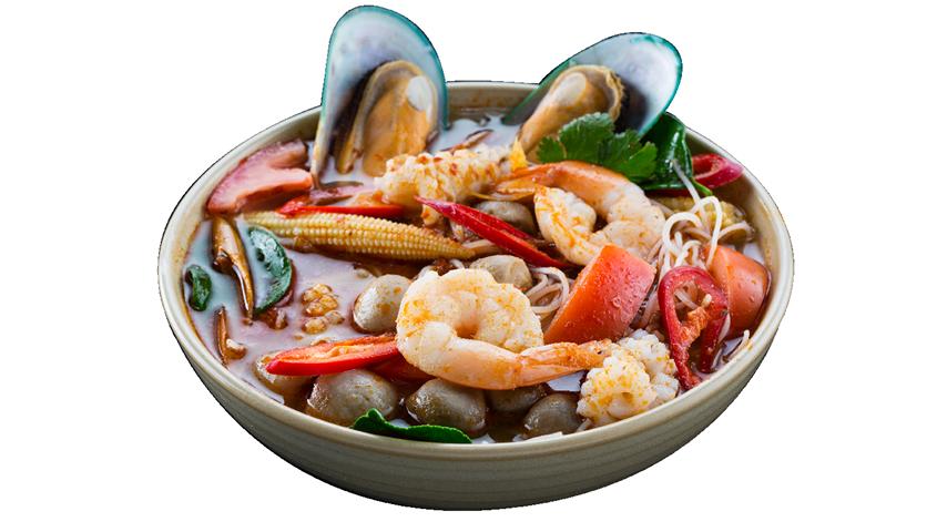 Seafood Tom Yum Soup