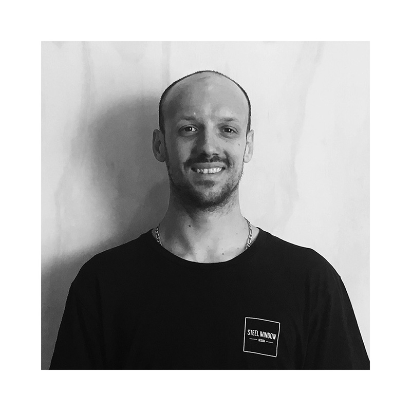 Romain - Steel Fabricator   Romain has more than 10 years' experience in steel fabrication. Originally from France, Romain has worked across Europe and is a graduate of a specialist welding school in France . As well as steel windows and doors, Romain specialises in steel staircases, historical monuments and black smithing.
