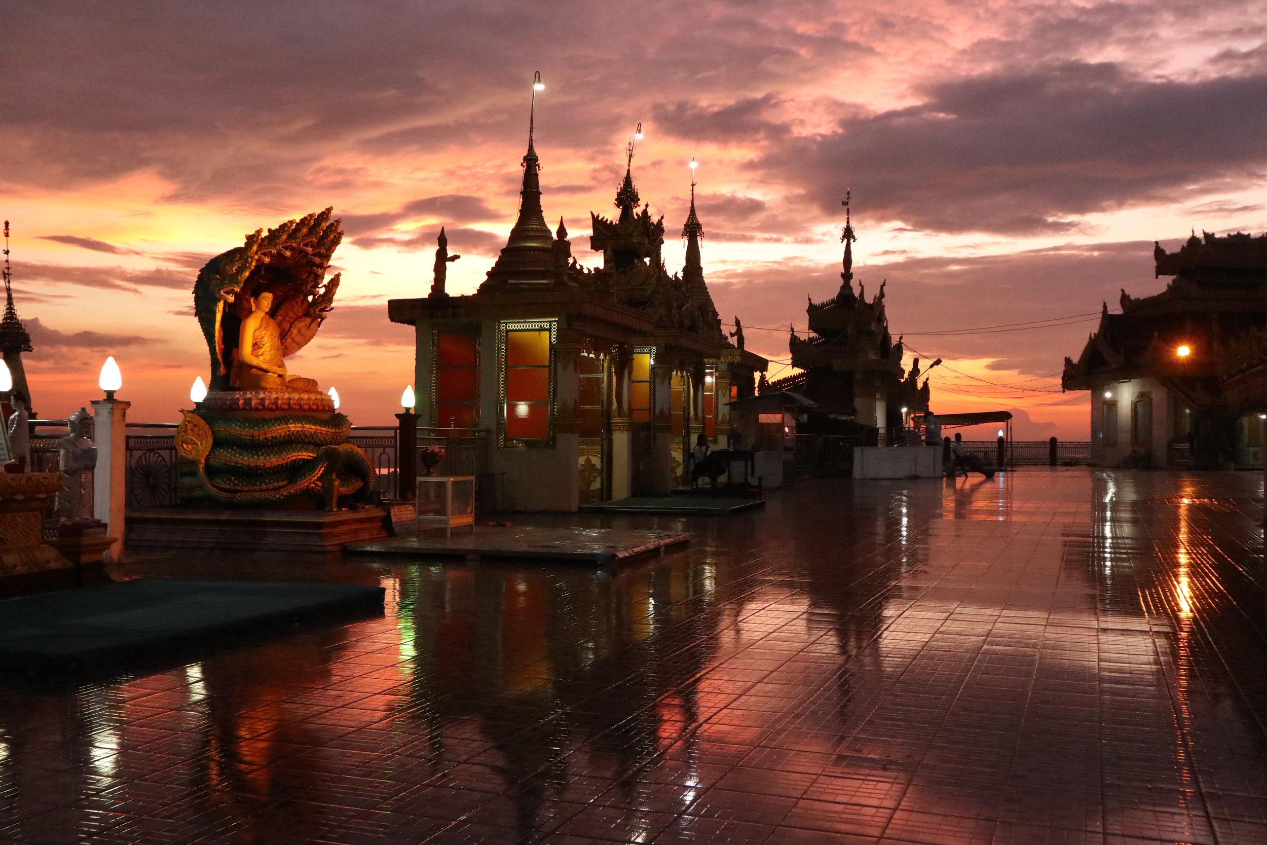 My favourite Myanmar pagoda, at Mawlamyine
