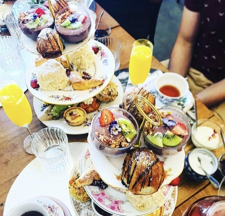 Bottomless Brunch($52pp) - Free flowing mimosas & pimms alongside a scrumptious brunch High Tea menu including smashed avo, quiches, savoury & sweet scones, homemade bircher muesli and pastries.Every Saturday & Sunday 10am in Montrose & Brunswick