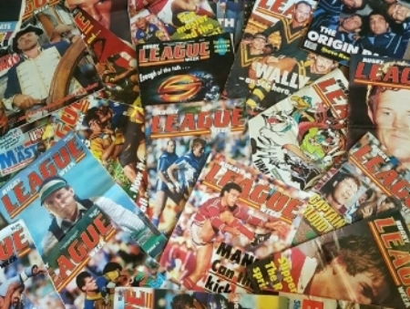 rugby league magazines